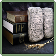 Religious Books and The Ten Commandments In Stone